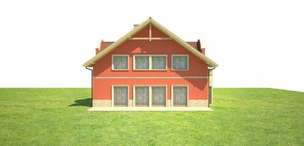 Projekt domu weselnego i pensjonatu U52