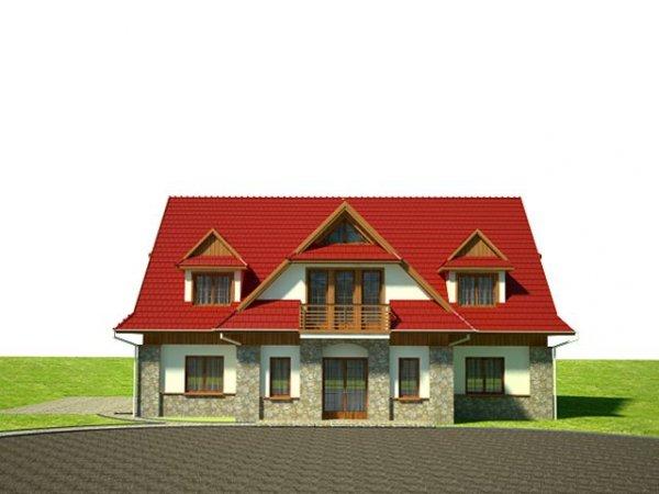 Projekt domu weselnego i pensjonatu ZHW1