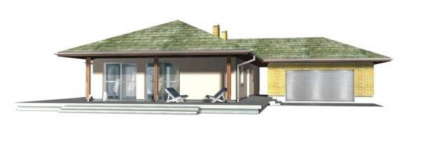 Projekt nowoczesnego domu parterowego DG25L