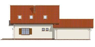 Projekt domu Puchatek pow.netto 115,14 m2