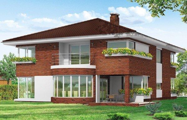 Projekt domu Gabriela III pow.netto 321,79 m2