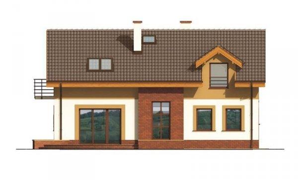 Projekt domu Dubrovnik B