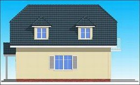 Projekt domu Adaś pow.netto 93,6 m2