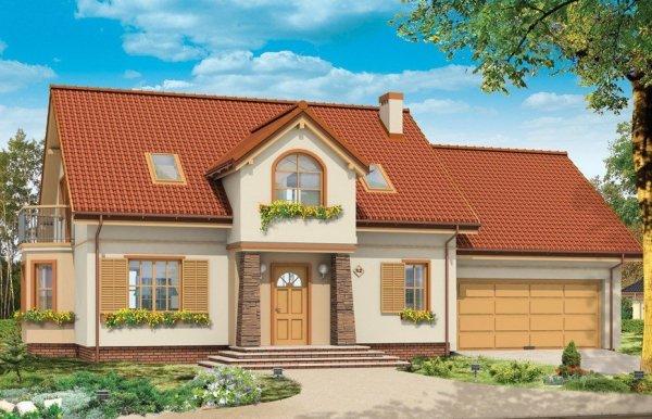 Projekt domu Zgrabny V pow.netto 234,36 m2
