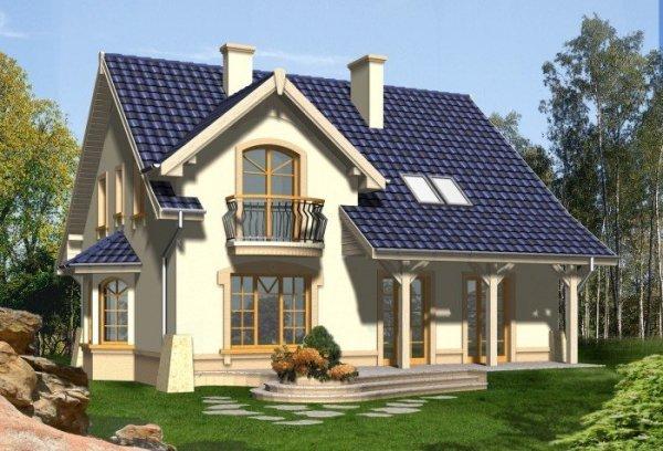 Projekt domu NOSTALGIA