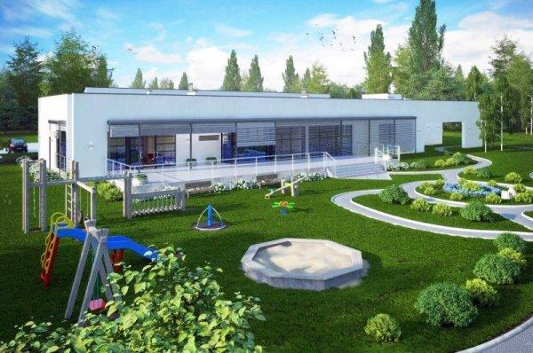 Projekt przedszkola KR-44 na 50 dzieci (4-oddziałowe)