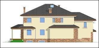 Projekt domu Wygodny pow.netto 289,31 m2