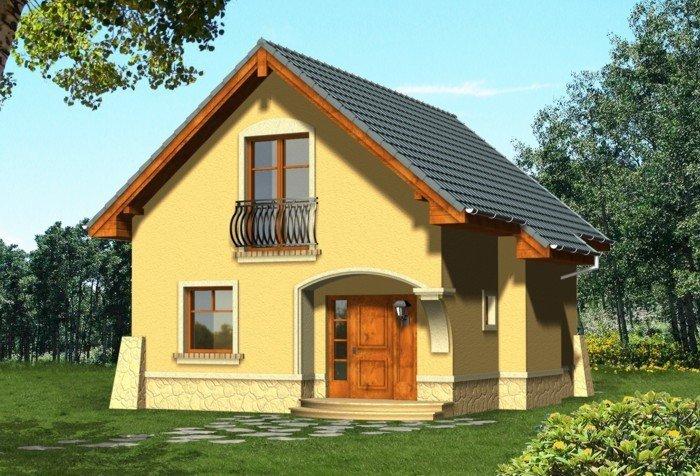Projekt domu KAWA