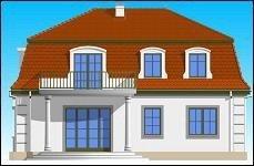 Projekt domu Retro pow.netto 153,38 m2