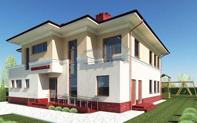 Projekt przedszkola PICOLO na 45 dzieci 3-oddziałowe (WARIANT I))