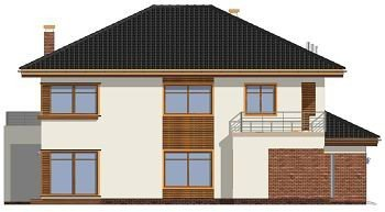 Projekt domu Topaz II pow.netto 240 m2