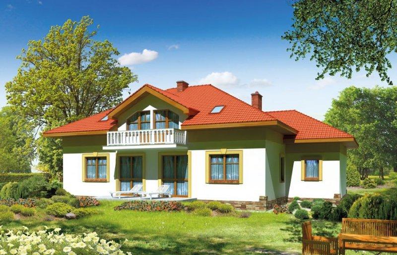 Projekt domu BS-08 dwulokalowy pow. 179,5 m2