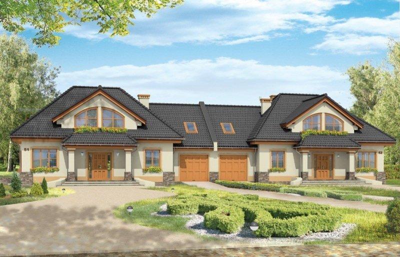 Projekt domu Faworyt III pow.netto 189,64 m2