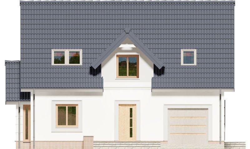 Projekt domu Japet