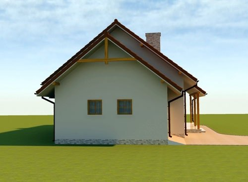 Projekt domu Bajeczne Wzgórze