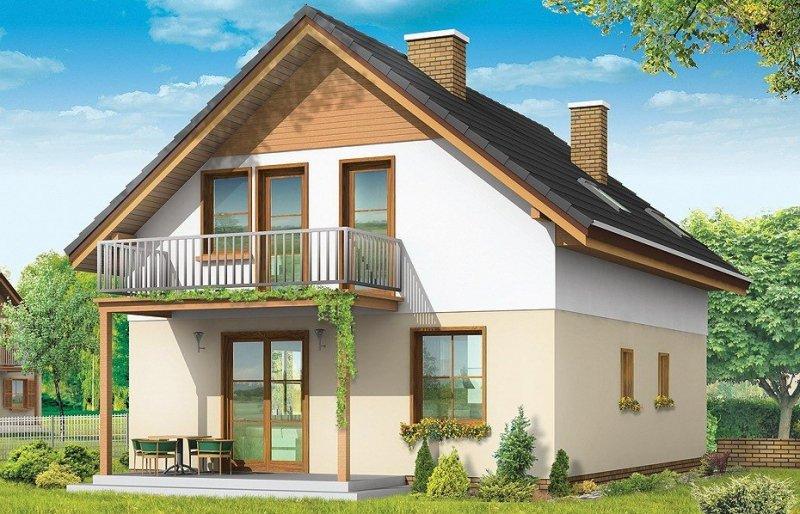 Projekt domu Praktyczny A pow.netto 121,05 m2