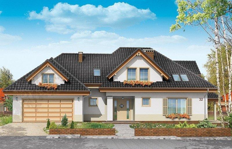 Projekt domu Joanna pow.netto 234,01 m2