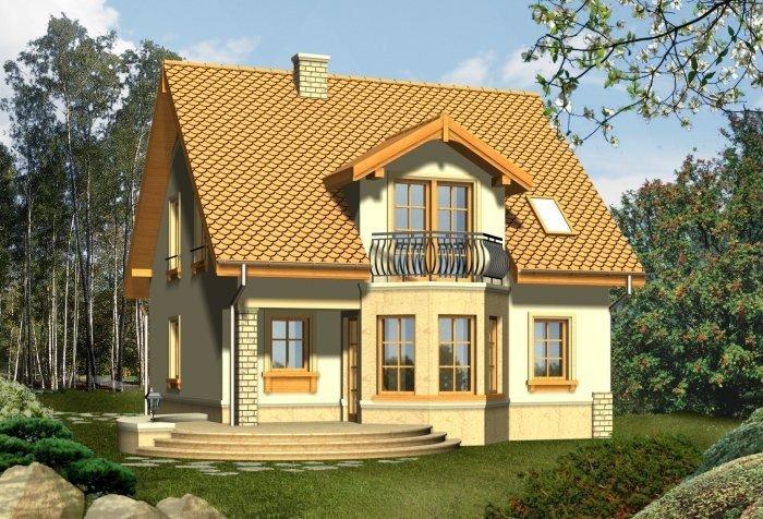 Projekt domu LIRA