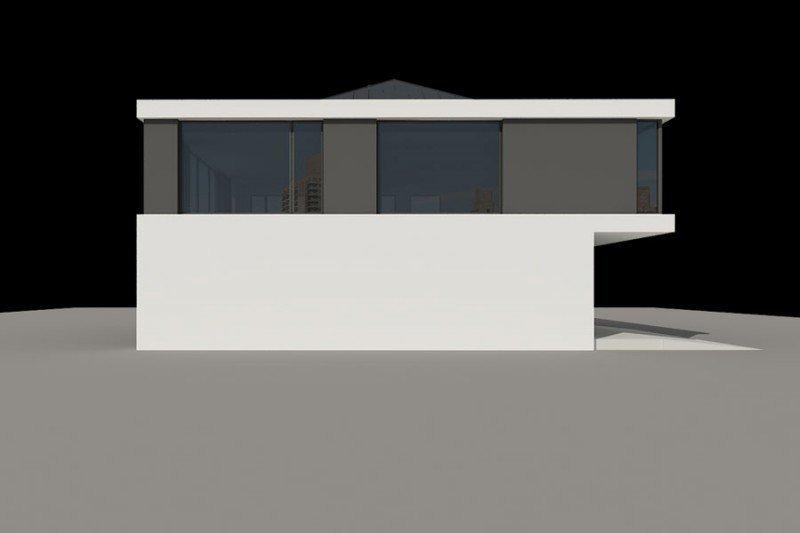 Projekt biurowca PS-SA-180-20v2 pow. 349,46 m2