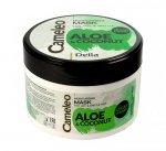 Delia Cosmetics Cameleo Aloes i Kokos Maska nawilżająca do włosów 200ml