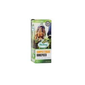 BIOBAG Worki BIOBAG DOG w 100% Biodegradowalne i Kompostowalne 22x32cm 40 sztuk w kartoniku