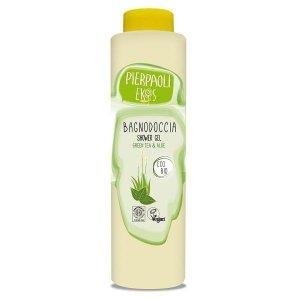 Pierpaoli Ekos Personal Care Odświeżający żel pod prysznic z ekstraktem z zielonej herbaty i organicznym sokiem z aloesu 500ml