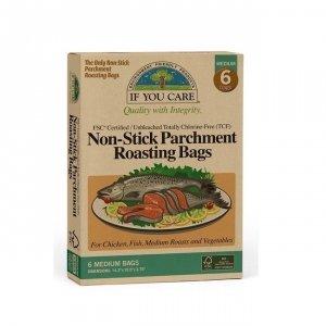 IF YOU CARE Torba, worek do pieczenia mięsa i warzyw Kompostowalny 6 szt
