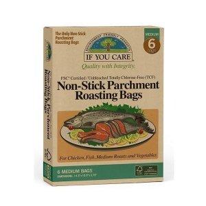 If You Care Torba worek do pieczenia mięsa i warzyw kompostowalny 6 szt.
