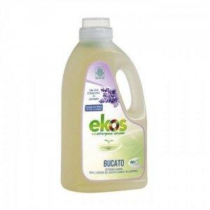 EKOS Delikatny płyn do prania ręcznego oraz w pralce z dodatkiem olejku lawendowego 40 PRAŃ 2L