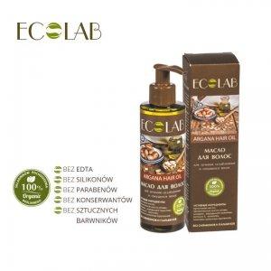 Arganowy olej do włosów wzmocnienie słabych i łamliwych włosów 200ml