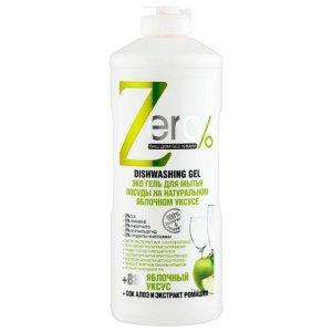 ZERO - Ekologiczny Żel do mycia naczyń - ocxet jabłkowy, aloes, rumianek
