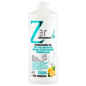 ZERO - Ekologiczny Żel do mycia naczyń - soda oczyszczana, cytryna