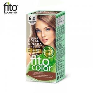 Farba do włosów 6,0 NATURALNY JASNY BRĄZ - FITO COLOR