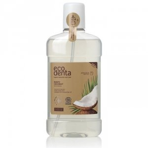 ECODENTA COSMOS Miętowy i kokosowy płyn do płukania jamy ustnej, 500ml