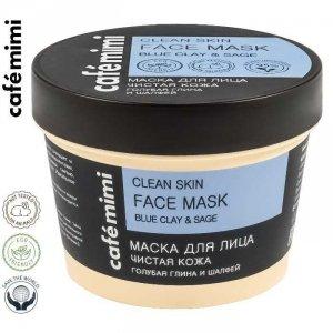 Café mimi Maska do twarzy Oczyszczona cera, 110 ml