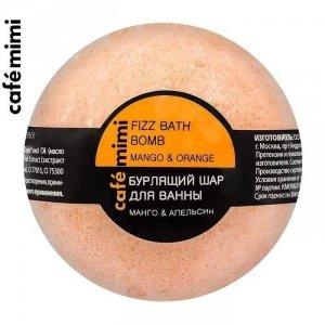 Cafe mimi Musująca kula do kąpieli Mango i pomarańcza, 120g