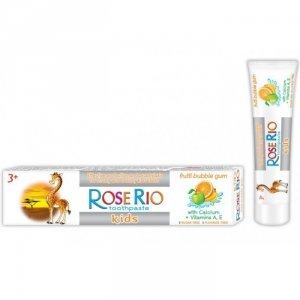 Pasta do zębów dla dzieci Bubble Gum Rose Rio, 50 ml.
