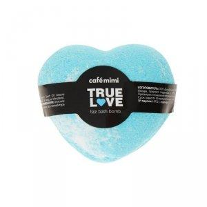 Syczący gejzer do kąpieli, Prawdziwa miłość, (niebieski) 115g - CAFE MIMI