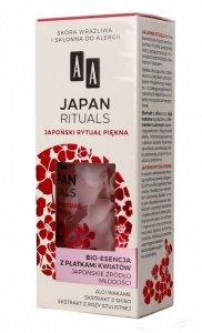 AA Japan Rituals Bio-Esencja z płatkami kwiatów - japońskie źródło młodości  35ml