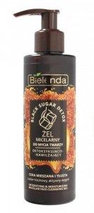 Bielenda Black Sugar Detox Żel micelarny do mycia twarzy detoksykująco-nawilżający 200g