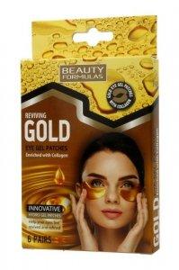 Beauty Formulas Gold Złote Płatki pod oczy 1op.-6 par