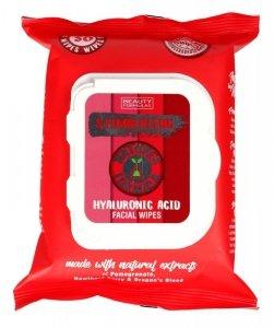 Beauty Formulas Natures Formulas Chusteczki do oczyszczania twarzy stymulujące 1op.-30szt