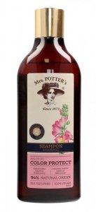 Mrs Potters Triple Flower Szampon do włosów farbowanych Color Protect  390ml
