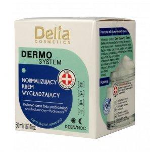 Delia Cosmetics Dermo System Normalizujący Krem wygładzający na dzień i noc  50ml