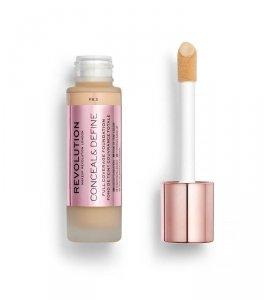 Makeup Revolution Conceal & Define Foundation Podkład kryjący F8.5  23ml