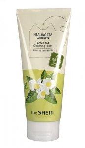 The SAEM Healing Tea Garden Pianka do mycia twarzy Green Tea  150ml