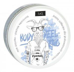 LaQ Body Scrub&Wash Peeling myjący do ciała dla facetów 200ml