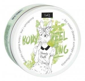 LaQ Body Scrub&Wash Peeling myjący do ciała Kiwi i Winogrona  200ml