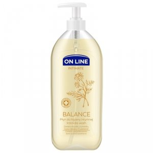 On Line Intimate Płyn do higieny intymnej Balance z rumiankiem  500ml