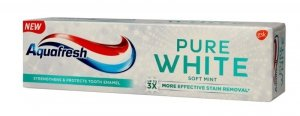 Aquafresh Pure White Pasta do zębów Soft Mint  75ml